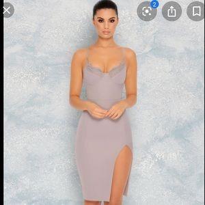 NWOT lilac midi dress (UK 8/US 4)